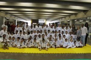 270 alunos são atendidos com o Judô com Tiago Camilo (Foto: Renata Alves)
