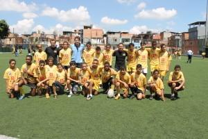 250 alunos são atendidos com o Rugby Para Todos. (Foto: Francisca Rodrigues)