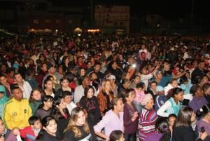 Festa realizada no campo do Palmeirinha o ano passado (Foto: Reprodução)